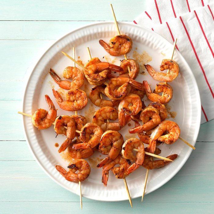 Zippy Shrimp Skewers recipe
