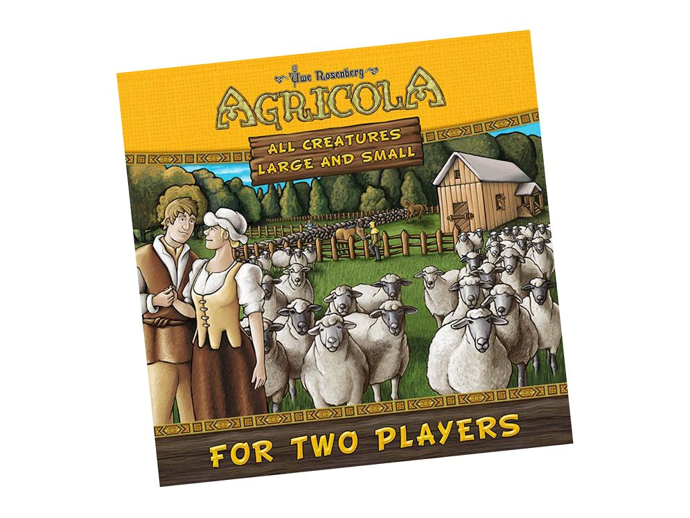Best Board Games For Two Players - Agricola All Creatures Big And Small Box
