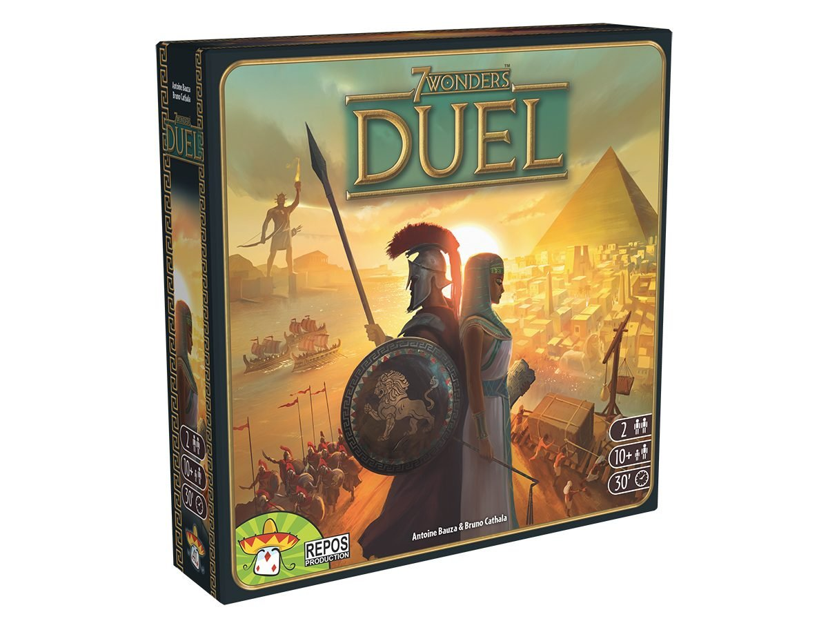 Best Board Games For Two Players - 7 Wonders Duel
