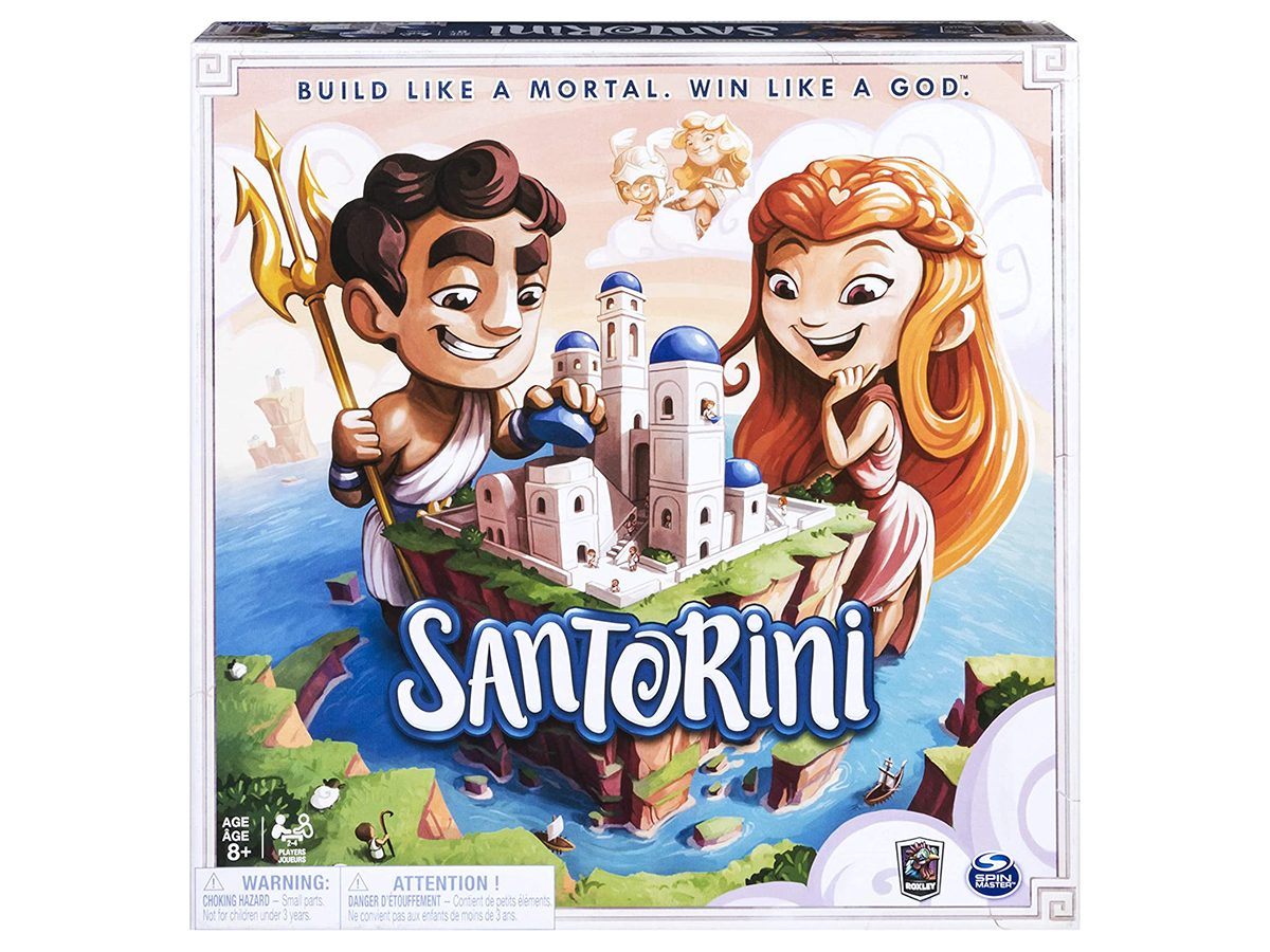 Best Board Games For Two Players - Santorini