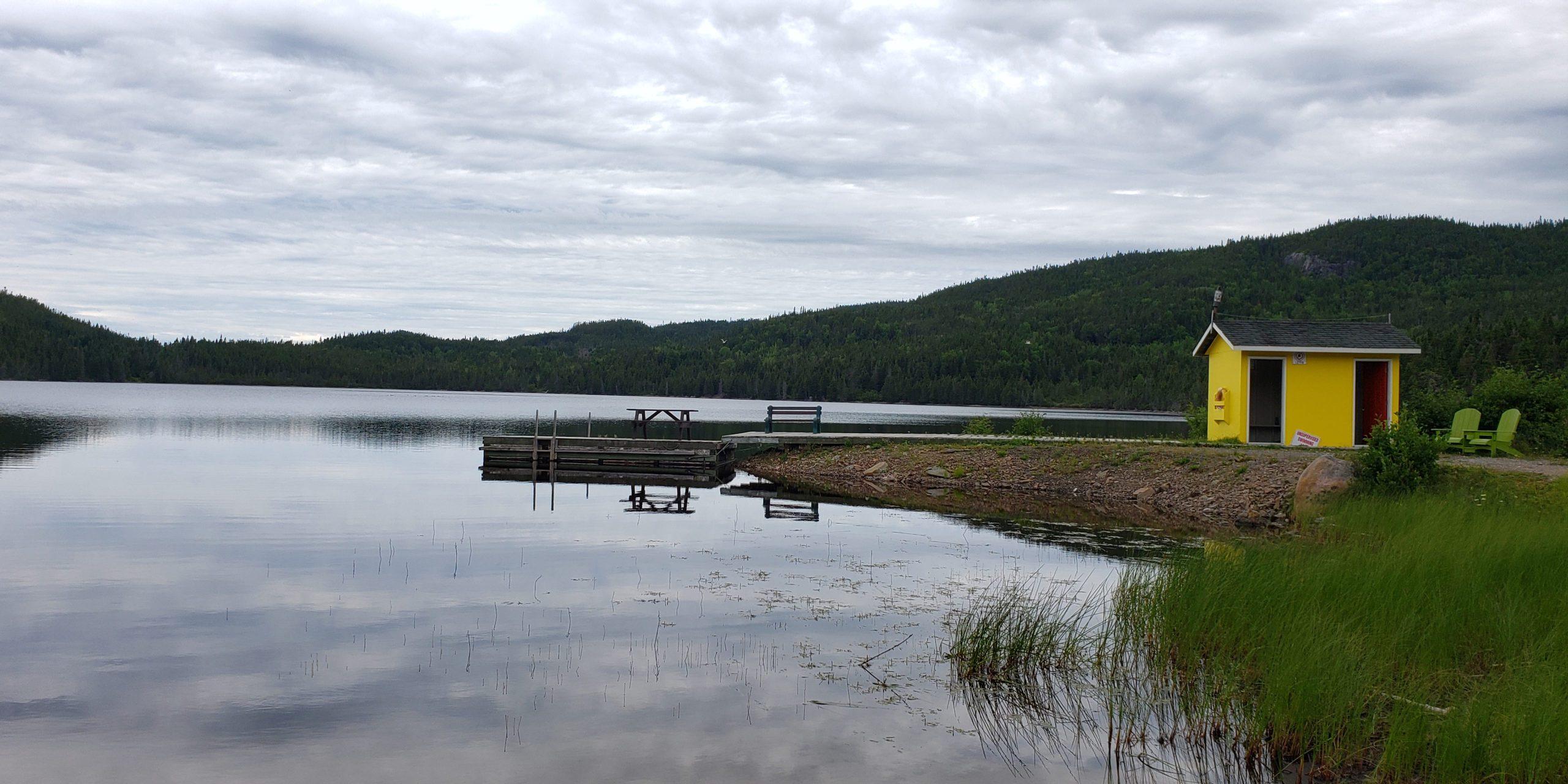 My Happy Place - Newfoundland Pond