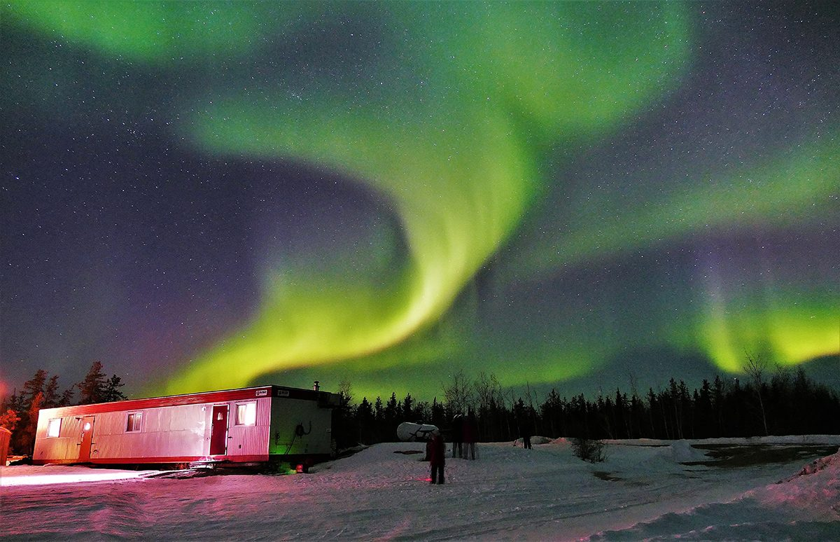 My Happy Place - Northern Lights Yukon