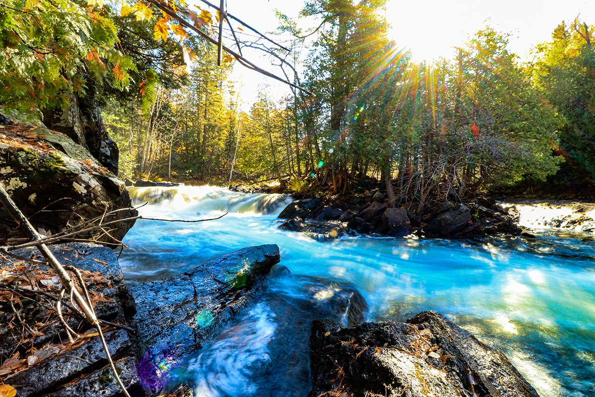 My Happy Place - Sunshine Along The Raging River
