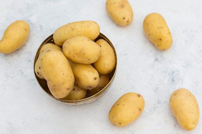 Fresh Ripe Potatoes On Table 2