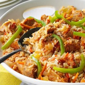 Slow Cooker Recipes For Two - Cajun Pork And Rice
