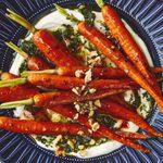 Honey-Roasted Whole Carrots