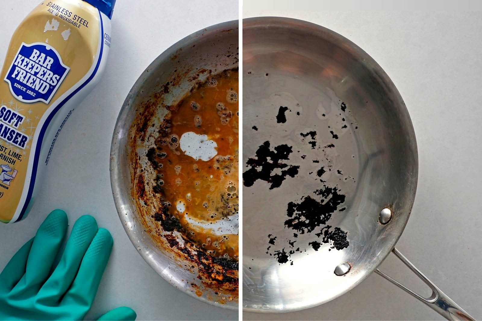Bar Keepers Friend Cleaning Pan