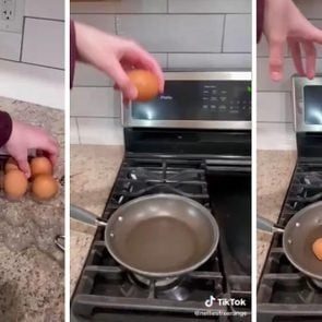 Egg Cracking Hack Via Nelliesfreerange Tiktok