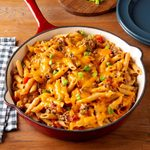 Family-Favourite Cheeseburger Pasta