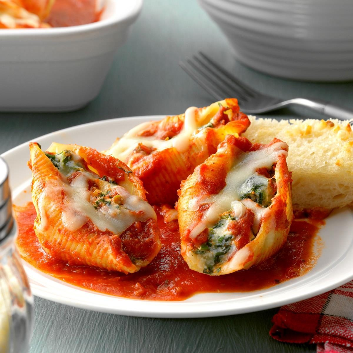 Inspired by: Olive Garden's Giant Cheese Stuffed Shells
