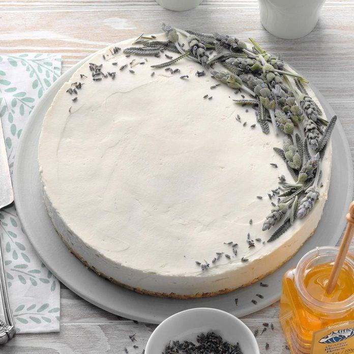 Lavender Honey Cheesecake recipe