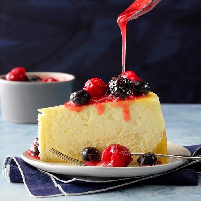 New York Cheesecake with Shortbread Crust recipe
