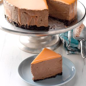 Orange Chocolate Mousse Mirror Cake