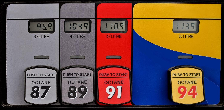 Bad Gas Pump Habits - Fuel Grades