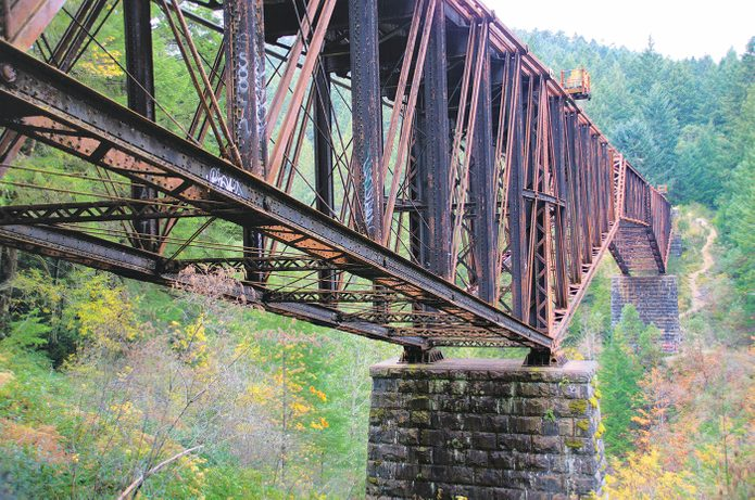 E&N Railway - Niagara Trestle