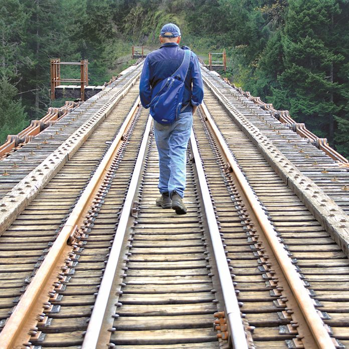 E&N Railway - Walking The Trestle