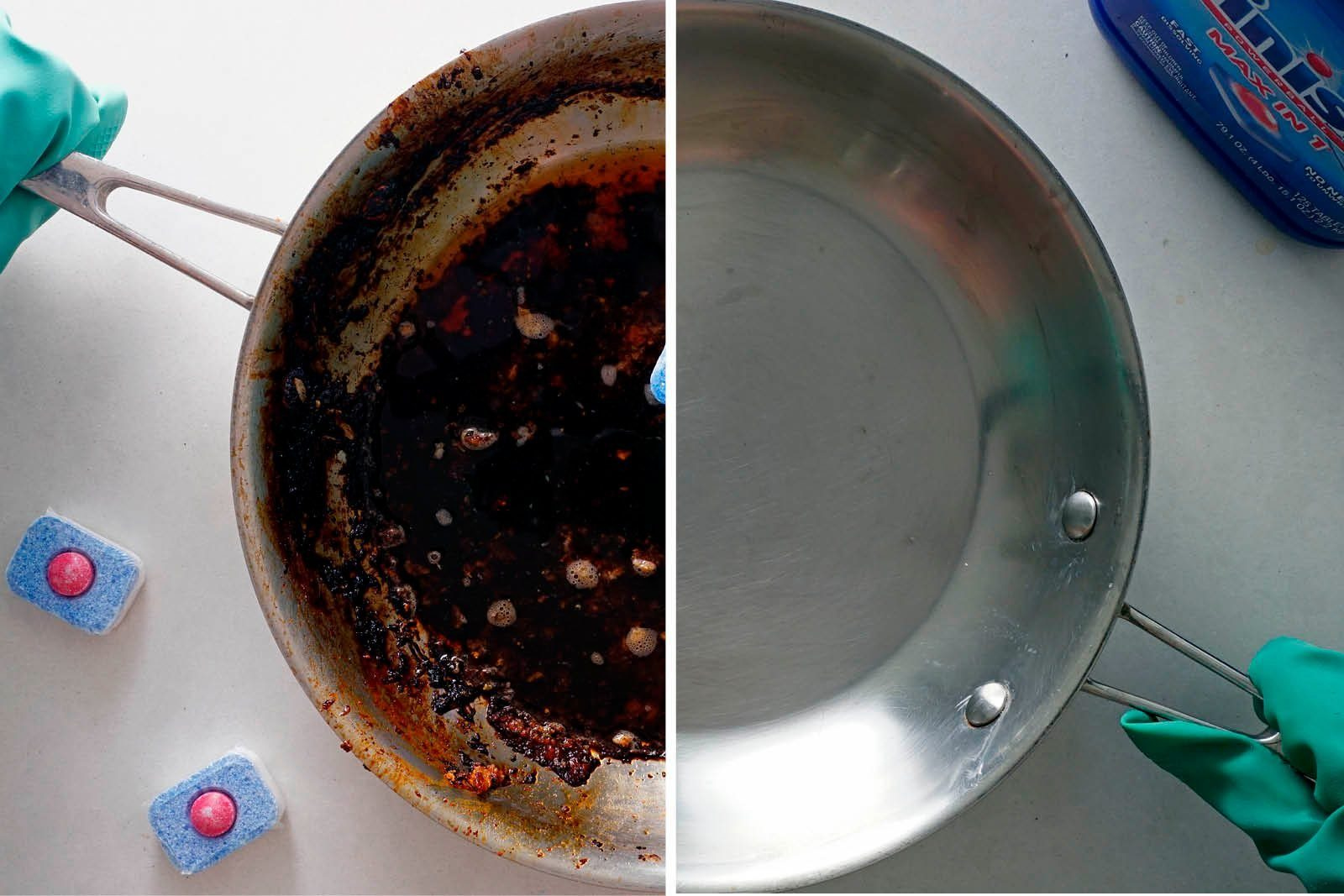 How To Clean A Skillet Dishwasher Tablet