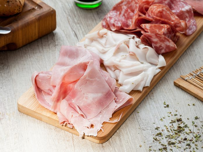 How To Organize Your Fridge - Cold Cuts