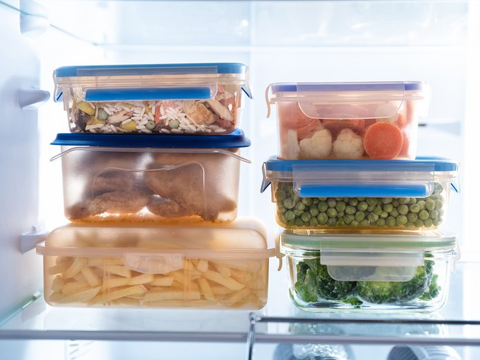 How To Organize Your Fridge - Resealable Food Containers