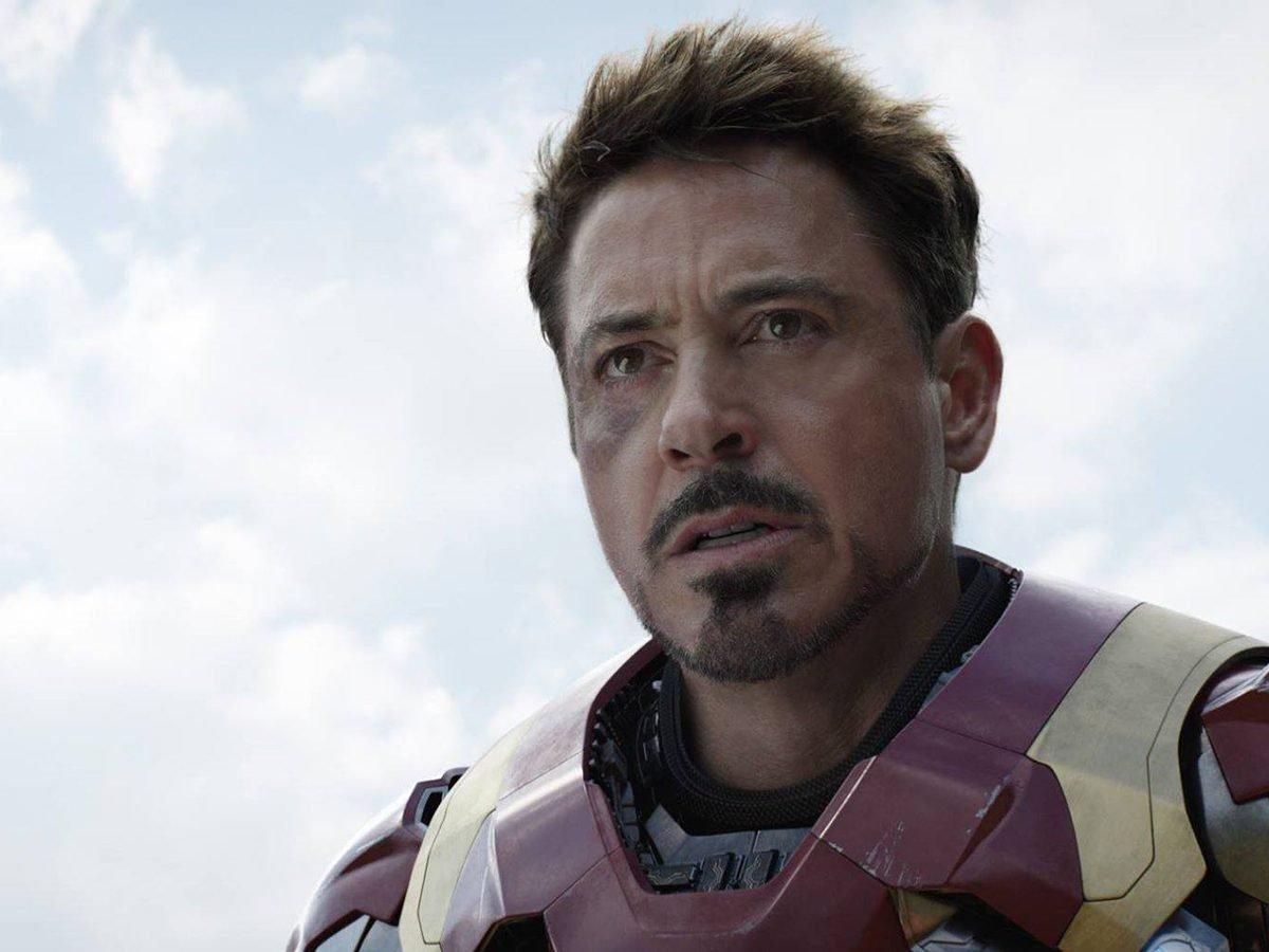 - Tony Stark in Avengers: Endgame