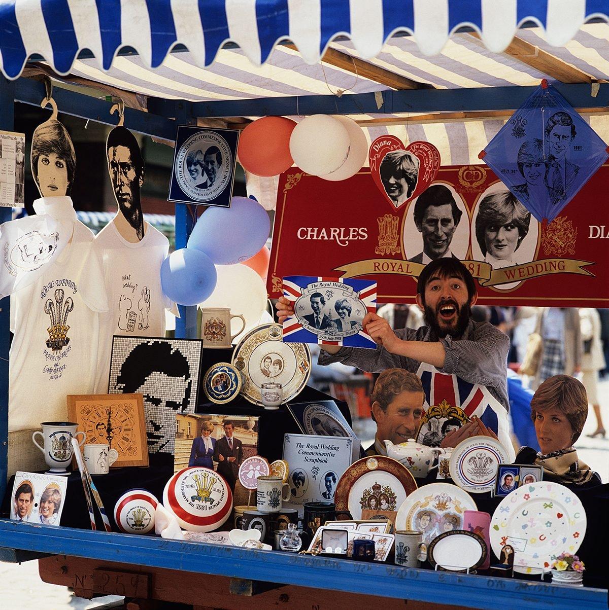 Prince Charles and Princess Diana wedding souvenirs