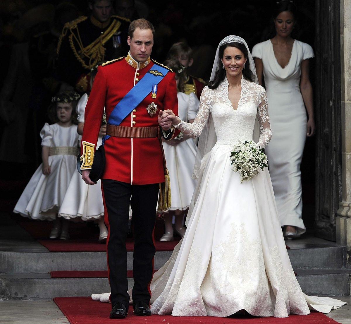 Prince Charles and Princess Diana's wedding - William and Kate's wedding