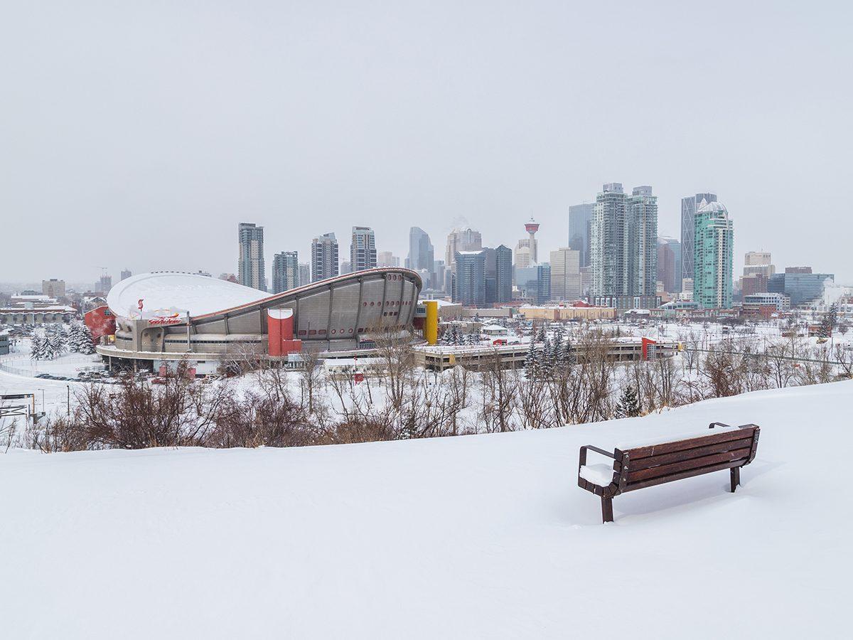 spring forecast Canada - Calgary in snow