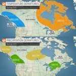 Here's the Spring Forecast Across Canada, According to AccuWeather