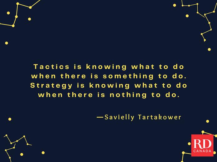 Short Inspirational Quotes - Savielly Tartakower