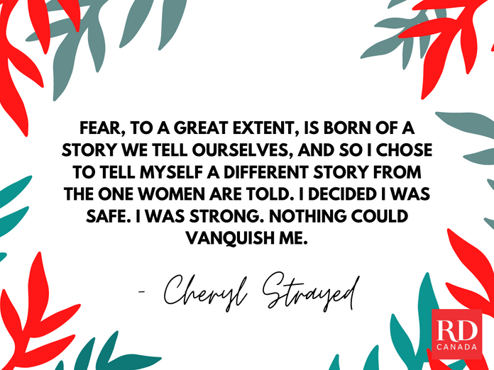 Short Inspirational Quotes - Cheryl Strayed