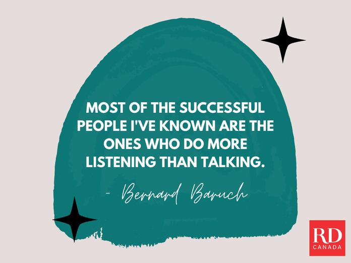 Short Inspirational Quotes - Bernard Baruch