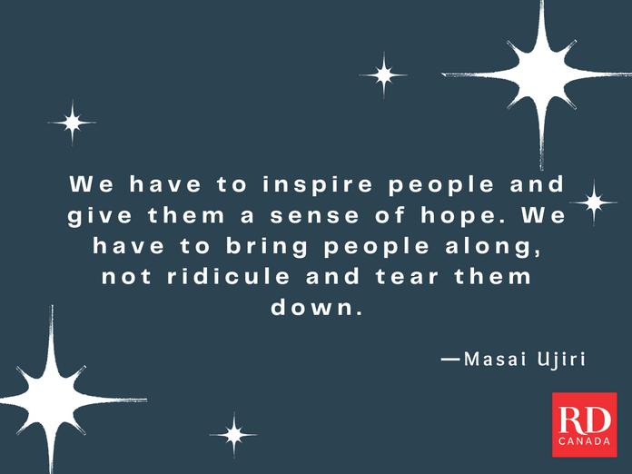 Short Inspirational Quotes - Masai Ujiri