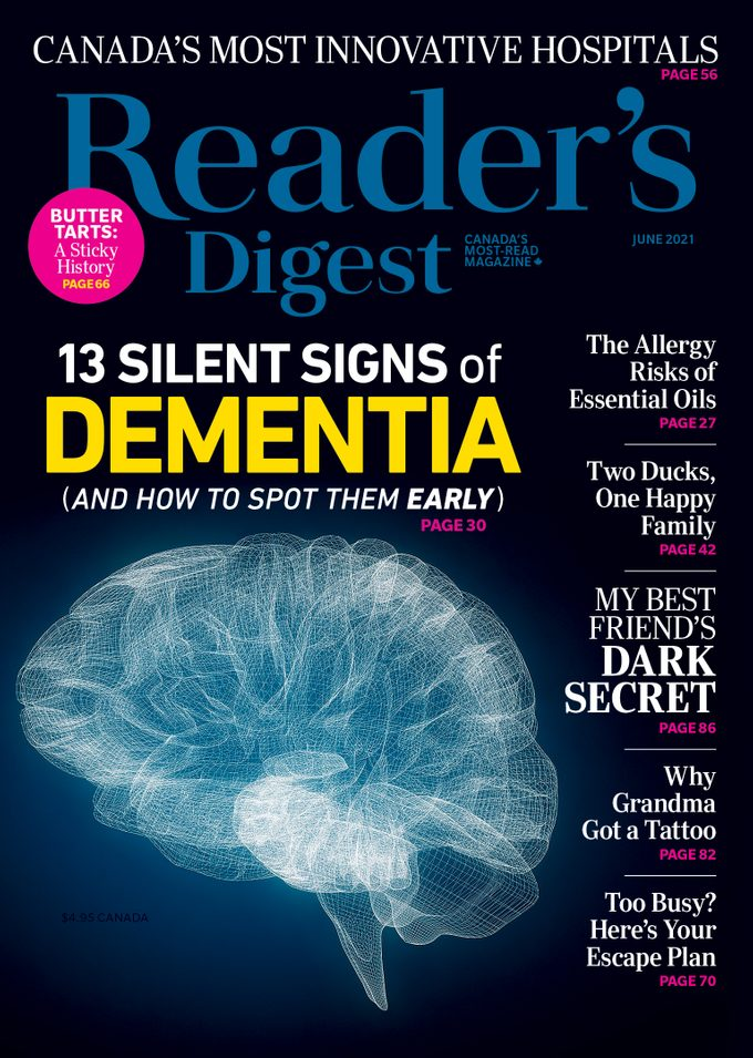 Reader's Digest Canada June 2021 Issue - In This Issue