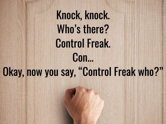 Best Knock Knock Jokes - Control Freak