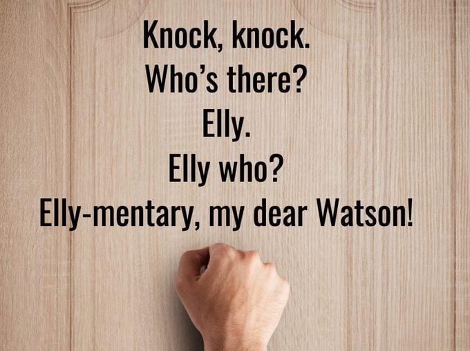 Best Knock Knock Jokes - Elementary