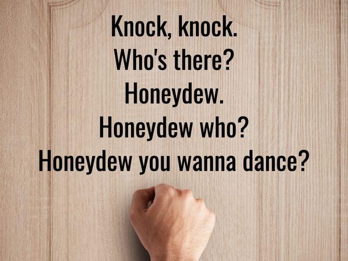 Best Knock Knock Jokes - Honeydew