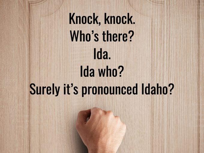 Best Knock Knock Jokes - Idaho