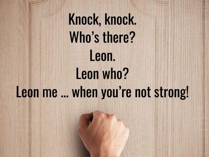 Best Knock Knock Jokes - Leon