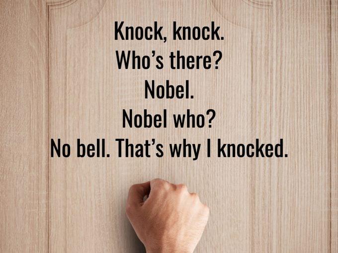 Best Knock Knock Jokes - Nobel