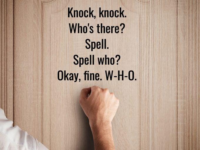 Best Knock Knock Jokes - Spell