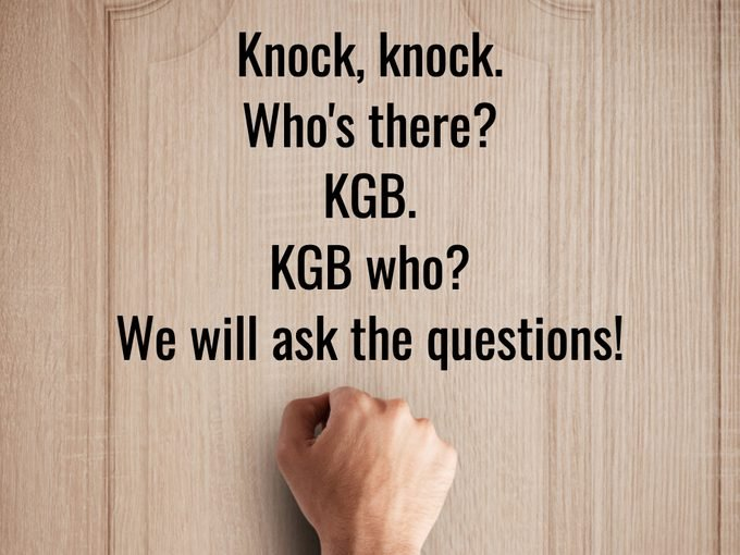 Best Knock Knock Jokes - The Office Kgb
