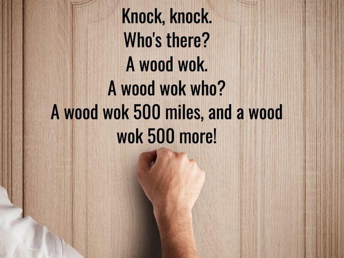 Best Knock Knock Jokes - Wood Wok
