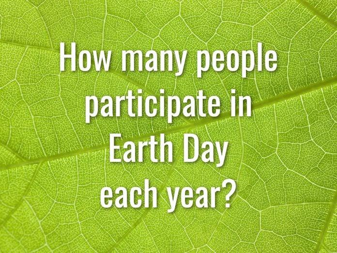 Earth Day Quiz - Question 1