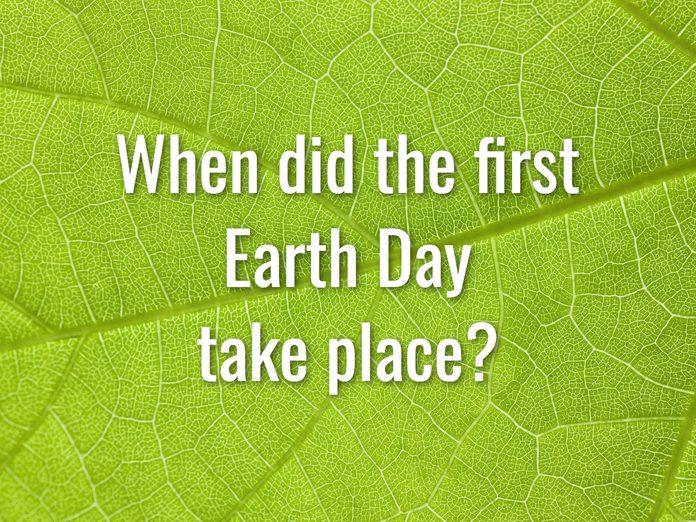 Earth Day Quiz - Question 10