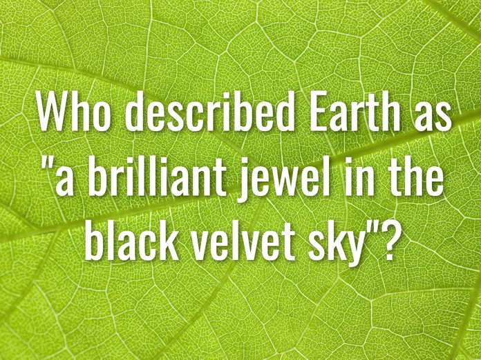 Earth Day Quiz - Question 15