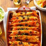 Zippy Chicken Enchiladas