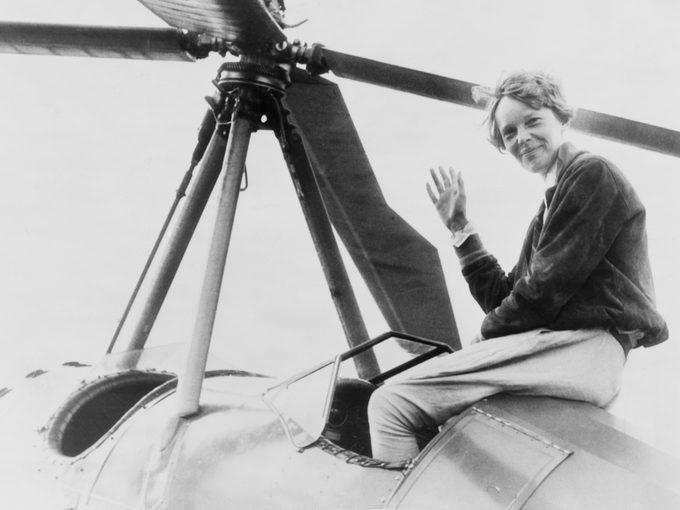 Missing Plane Mysteries - Amelia Earhart