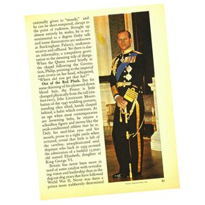 Prince Philip story from Readers Digest 1966