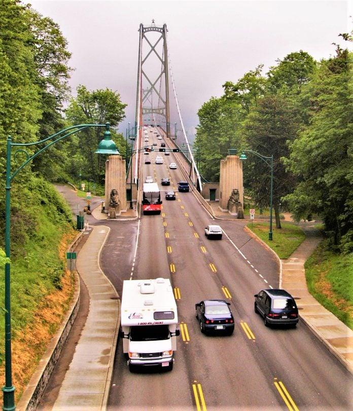 Road Trip - Lions Gate Bridge