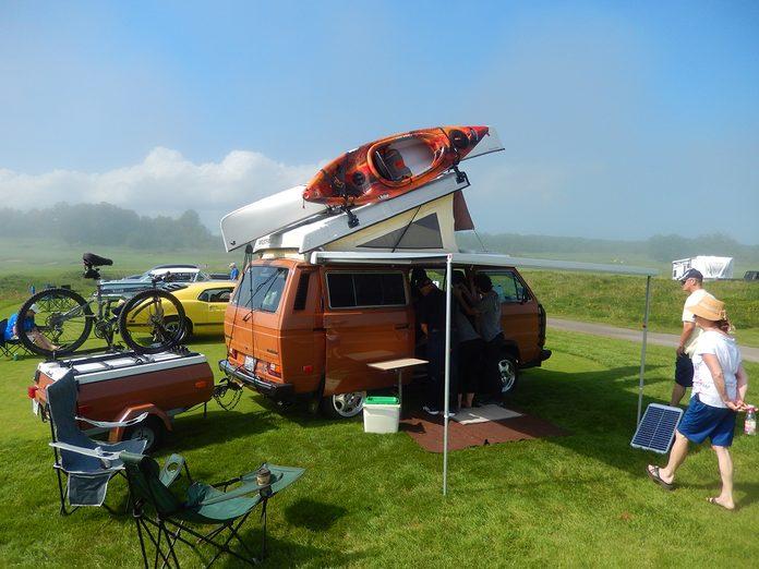 Road Trip Trailer - VW Westfalia Camper Van